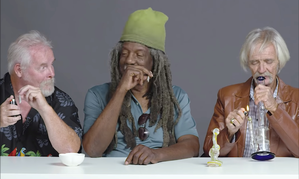 3 grandpas smoke first time - Video - What happens when 3 Grandpas smoke weed for the first time?