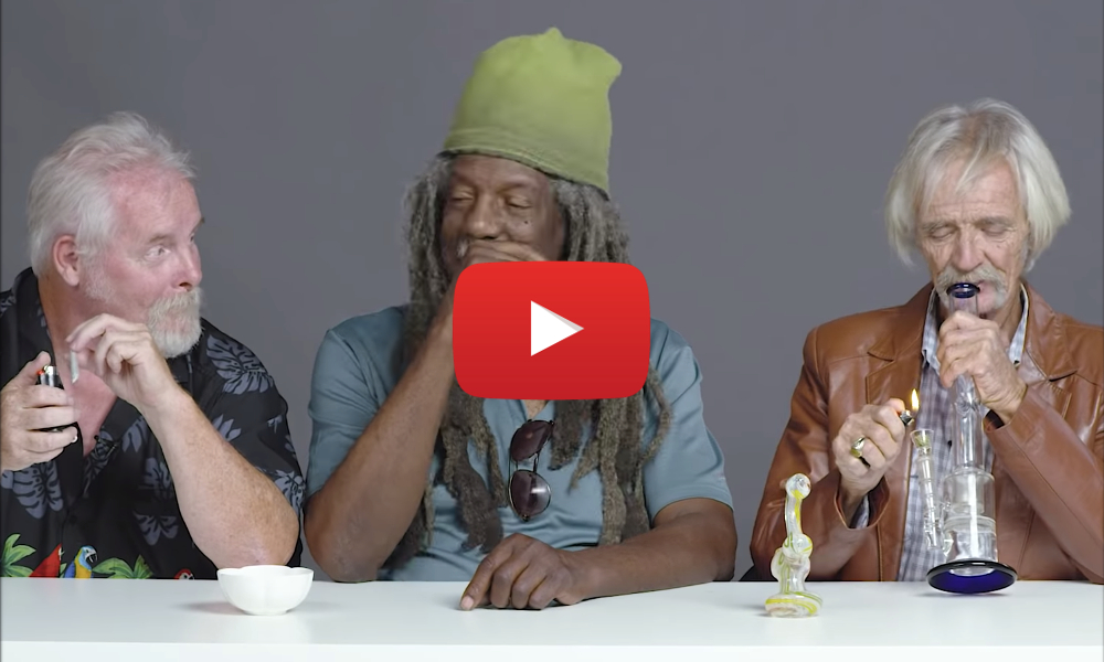 3 grandpas smoke first time video - Video - What happens when 3 Grandpas smoke weed for the first time?