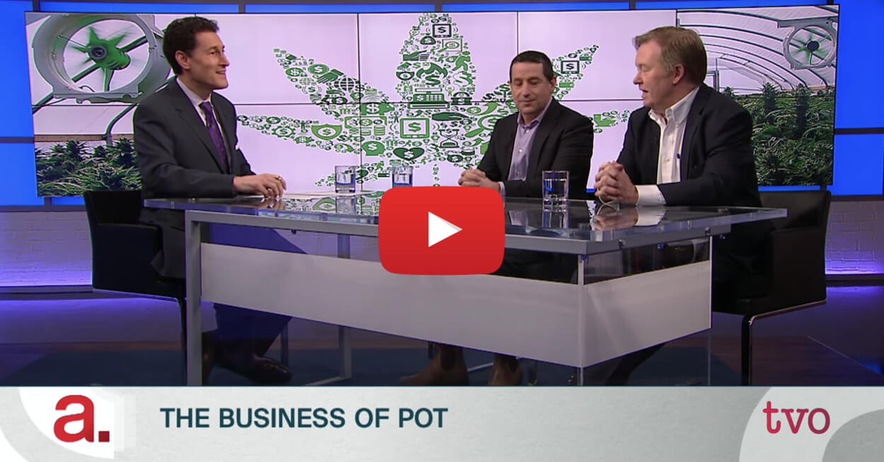 steve paikin feb2018 video3 - Watch: TVO's Steve Paikin talks all things marijuana. Cannabis Legalization, Investigating Pot Laws, The Business of Pot