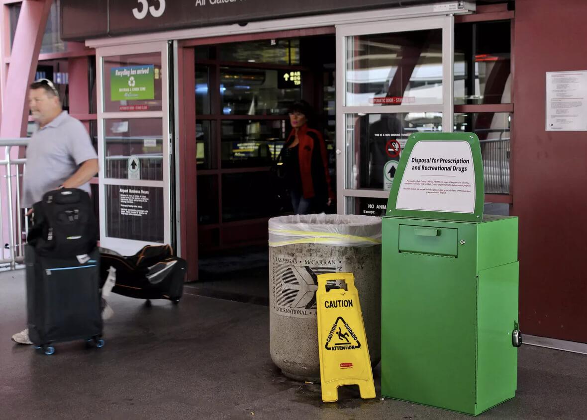 weed in vegas2 - This Las Vegas Airport Is Letting People Dump Their Marijuana Before Flying