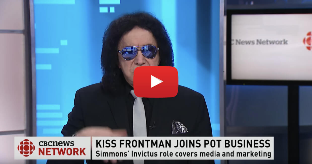 gene simmons video interview - KISS this! Gene Simmons hired by Canadian cannabis company as 'CEO'