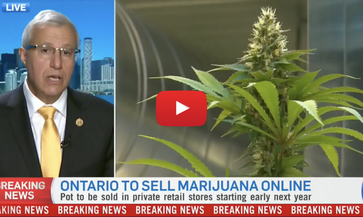 Ontario pot private retailers april2019 video2 - No April Fools Joke - Ontario to sell cannabis online only come October, retail April 1st 2019....