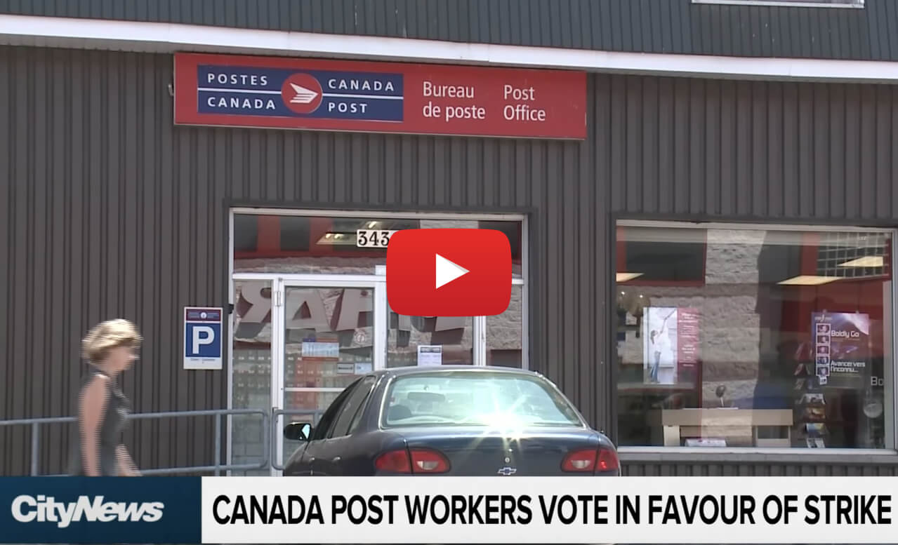 canada post strike no weed video - No weed October 17? Canada Post work stoppage could drive marijuana users to black market