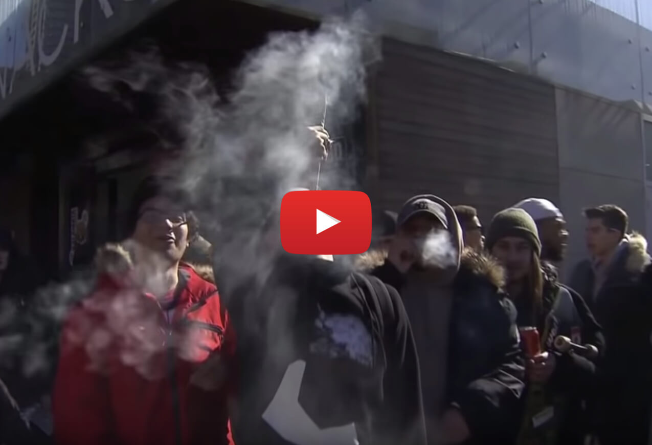 canada largest country legalize weed video2 - 109 legal marijuana shops open Wednesday, Canada set to become largest country with legal pot sales