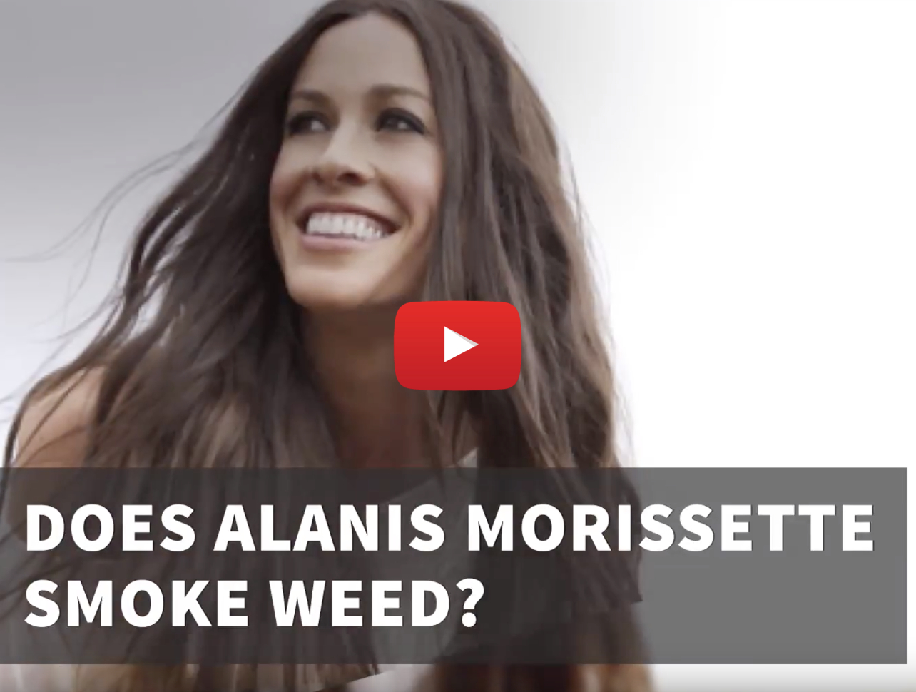 does alanis morissette smoke weed video1 - Does Alanis Morissette smoke weed? You Oughta Know!