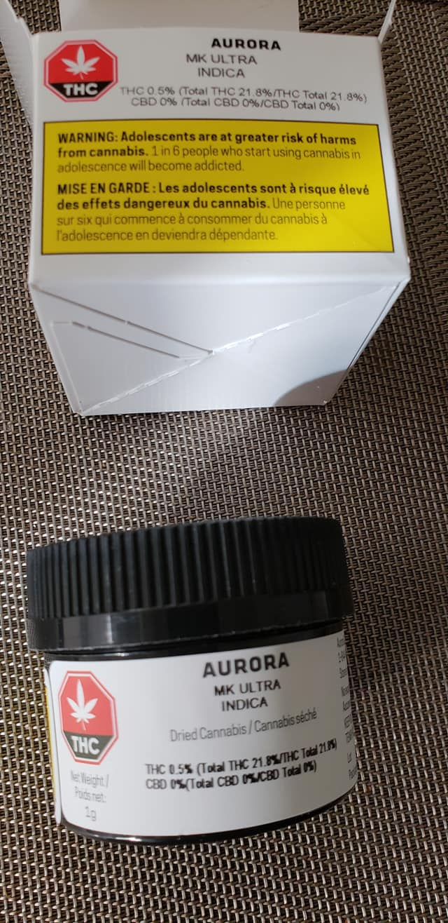 aurora mk ultra1 - Ordered 12:20am October 17th. Three Weeks Later. My OCS order (#7078) arrived today!