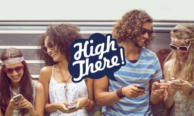 """high there app featured 400x240 - """"It's Tinder for tokers"""" High There! The new weed dating app to find the next love of your life"""