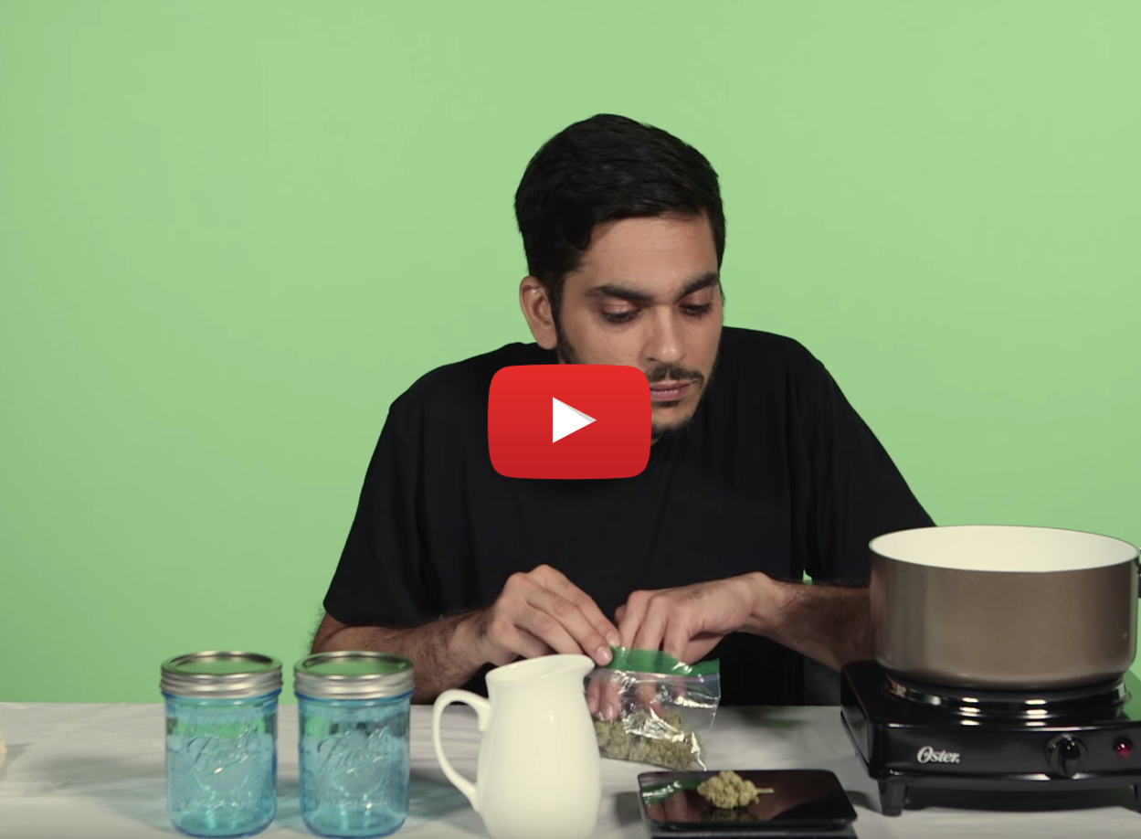 how made weed salad dressing video 1 - Recipe: How to make Marijuana Salad Dressing That'll Get You Stoned
