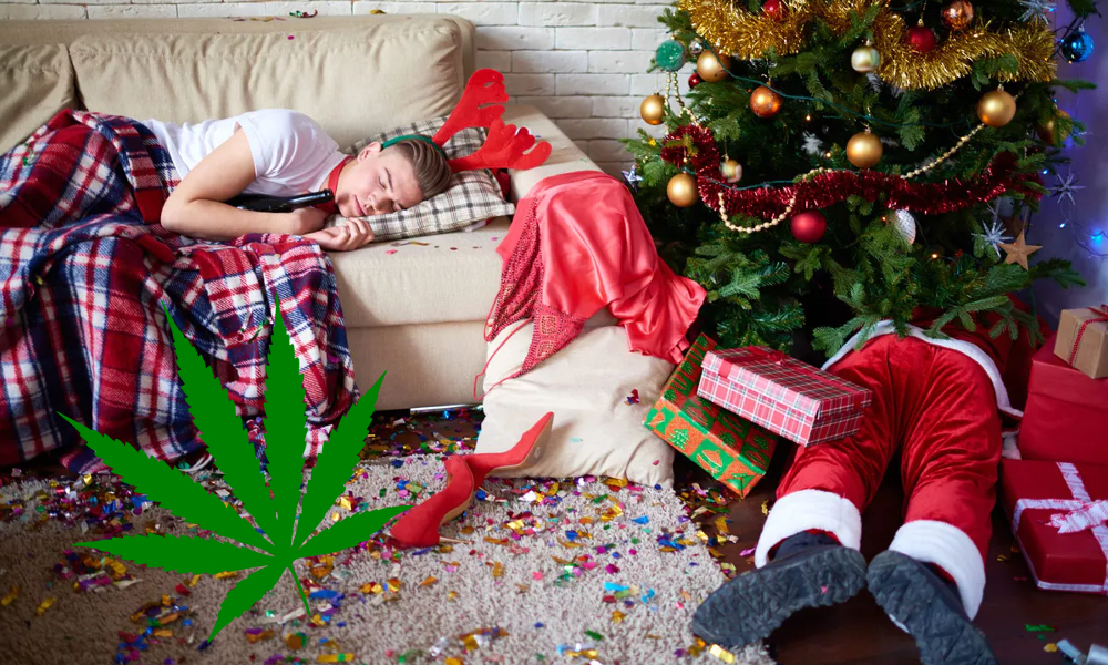 ocs delays weed like christmas featured - Weed Funny - When you finally get your order from the OCS, it's like Christmas morning!