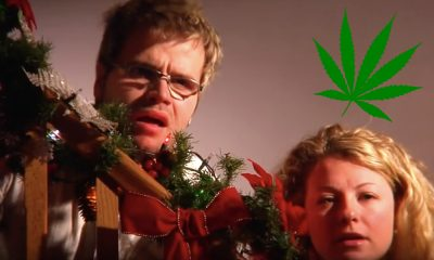 santa eating weed cookies featured 400x240 - A VERY Merry Christmas! See what happens when poor Santa eats weed brownies