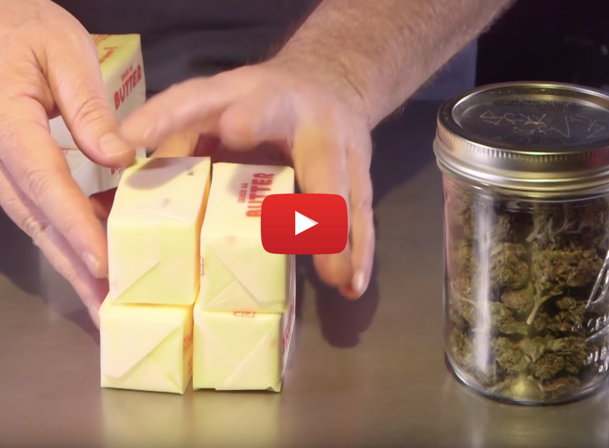how to make cannabutter video4 - Weed Baking 101: How to make Cannabutter (cannabis-infused butter) at Home