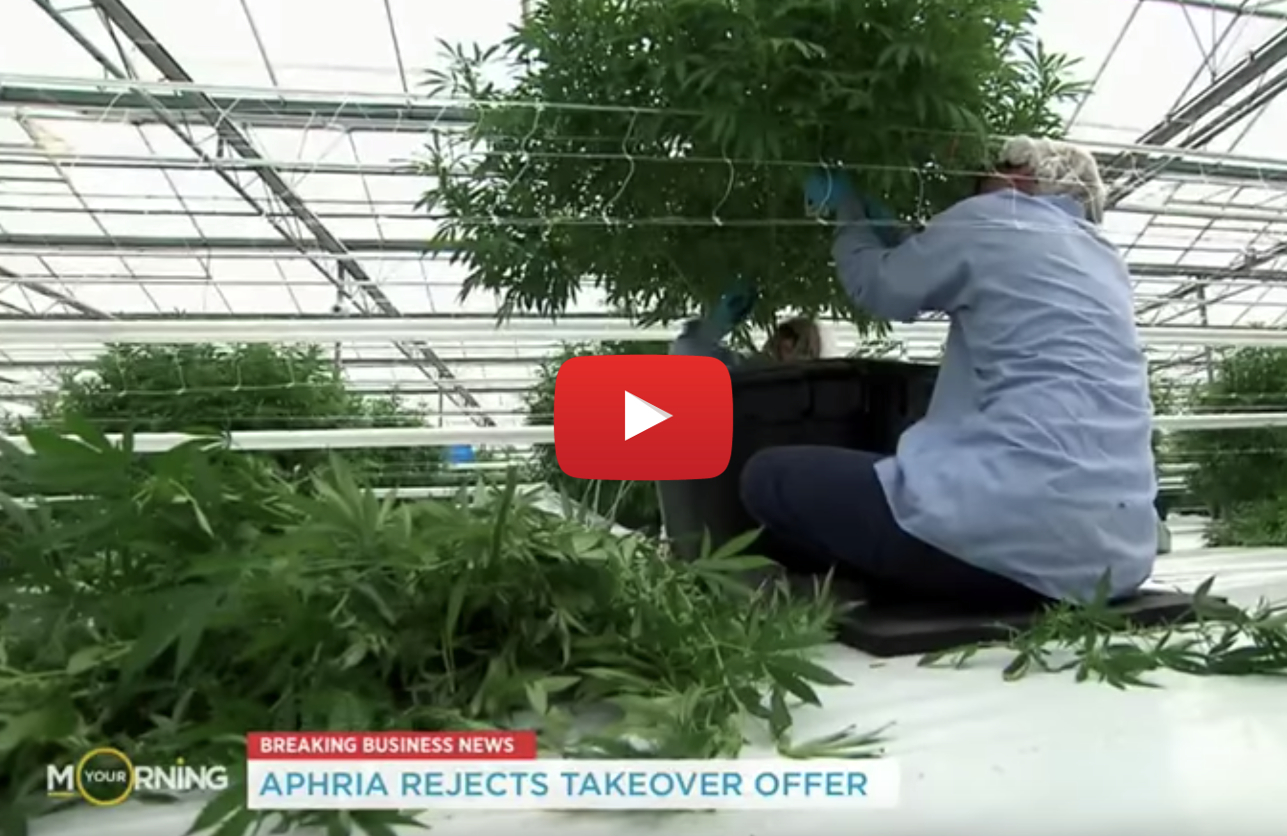 aphria rejects hostile bid video - Weed Wars! Aphria board rejects hostile takeover offer by Green Growth Brands