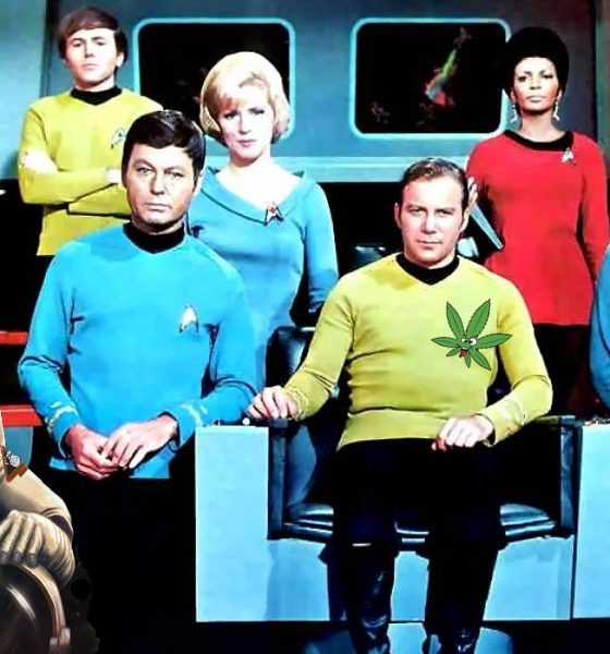 can you get high in space featured 560x600 - Captain Kirk wants to know! What Happens If You Smoked Weed In Space?