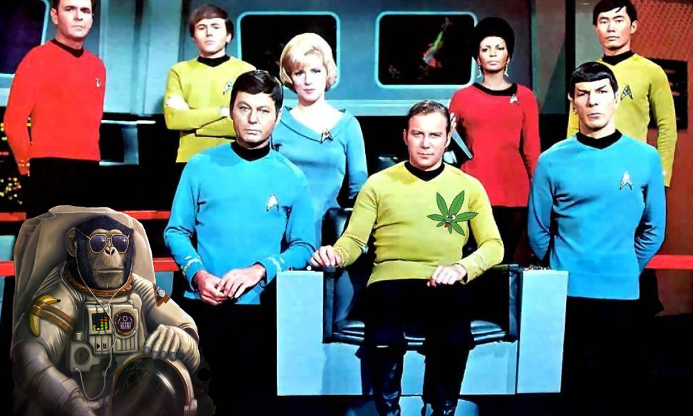 can you get high in space featured - Captain Kirk wants to know! What Happens If You Smoked Weed In Space?