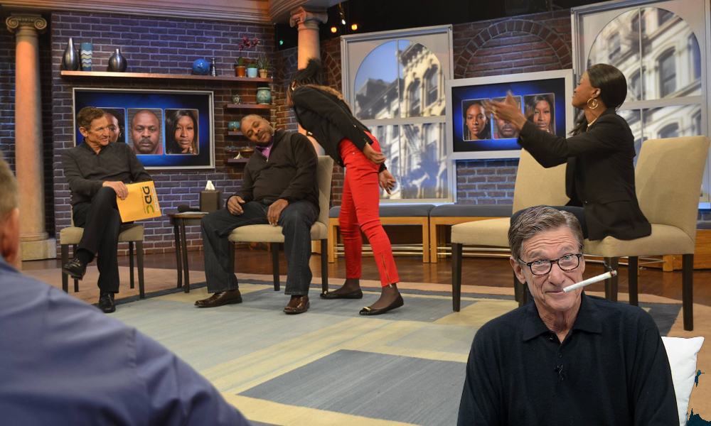 You are NOT the father! But does Maury Povich smoke weed?