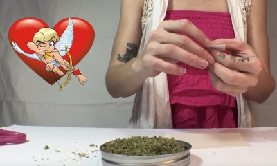 heart shaped joint valentines day featured 400x240 - Say I love you with weed! How to roll a heart-shaped joint for Valentine's Day!
