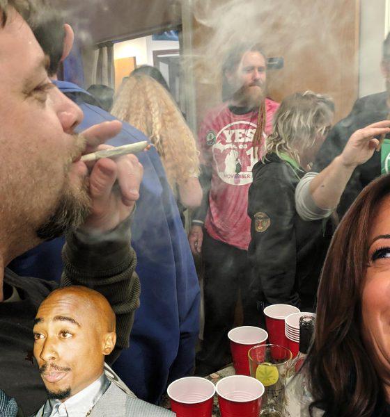 Blame Snoop Dogg and Tupac! Senator Kamala Harris admits to smoking weed