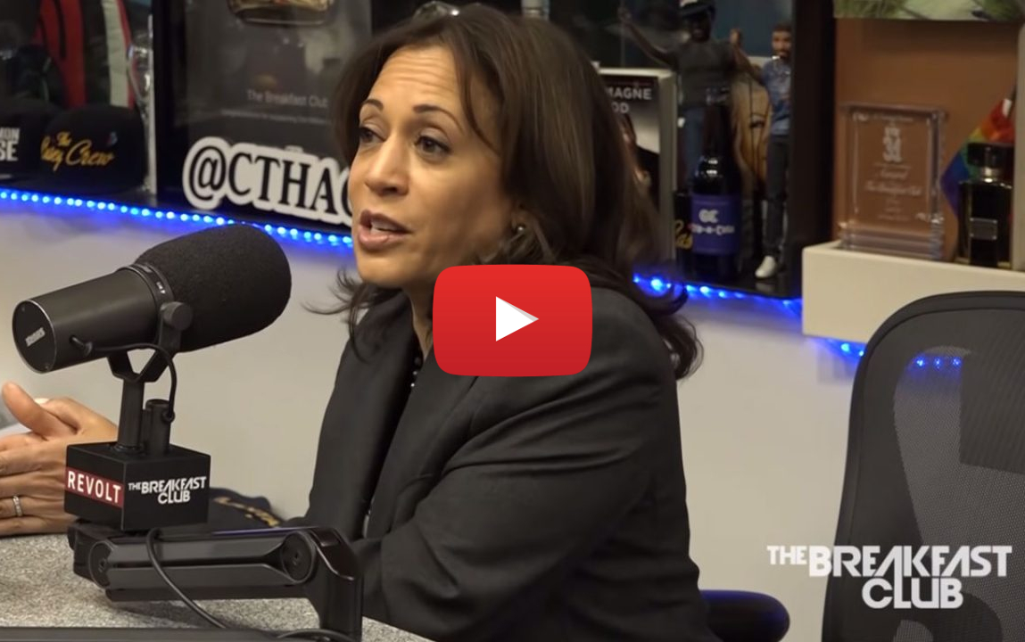 kamala harris smokes weed video - Blame Snoop Dogg and Tupac! Senator Kamala Harris admits to smoking weed