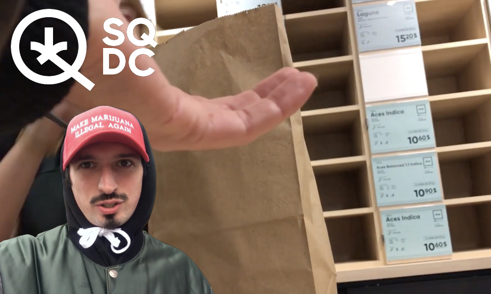 SQDC Review: No weed! With shelves empty, make marijuana illegal again
