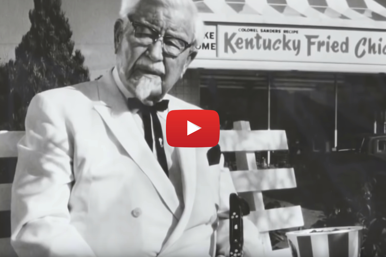 stoner colonel sanders video - Got the munchies and craving some dirty bird? The Tragic Real-Life Story of Colonel Sanders