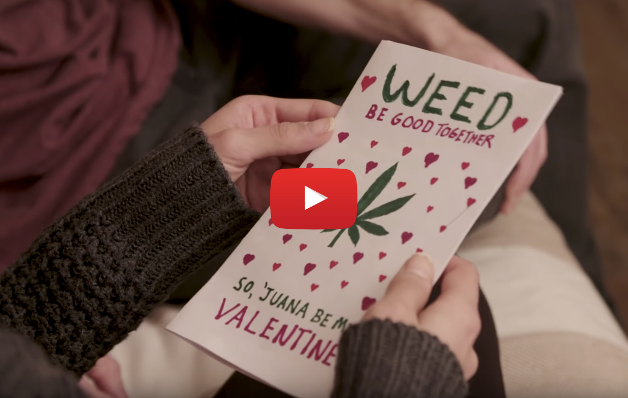 stoner valentines video - A Stoner Couple's Valentine's Day.. Do you love weed more than your girlfriend?