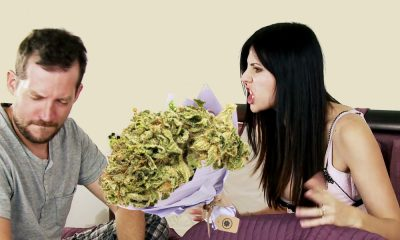 weed bouquet valentines featured 400x240 - Good idea right? Weed bouquet, the perfect Valentine's day gift for potheads