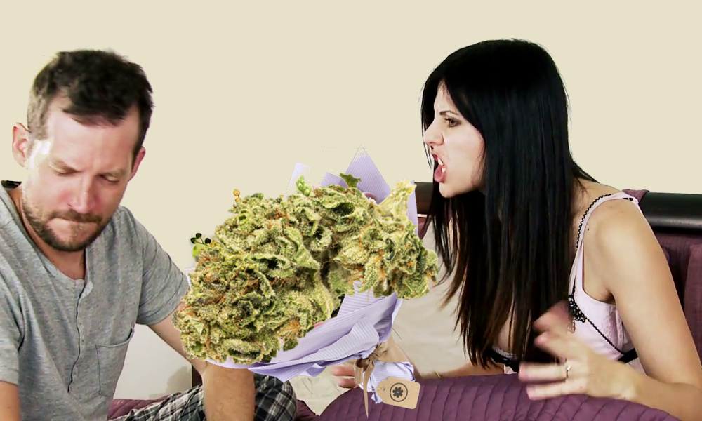 weed bouquet valentines featured - Good idea right? Weed bouquet, the perfect Valentine's day gift for potheads