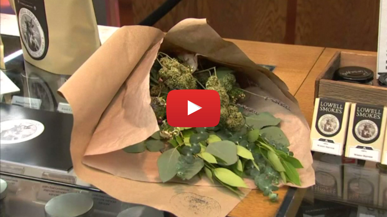 weed bouquet valentines video - Good idea right? Weed bouquet, the perfect Valentine's day gift for potheads
