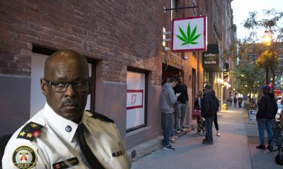 Toronto Police to crackdown on illegal pot shops as April 1st approaches