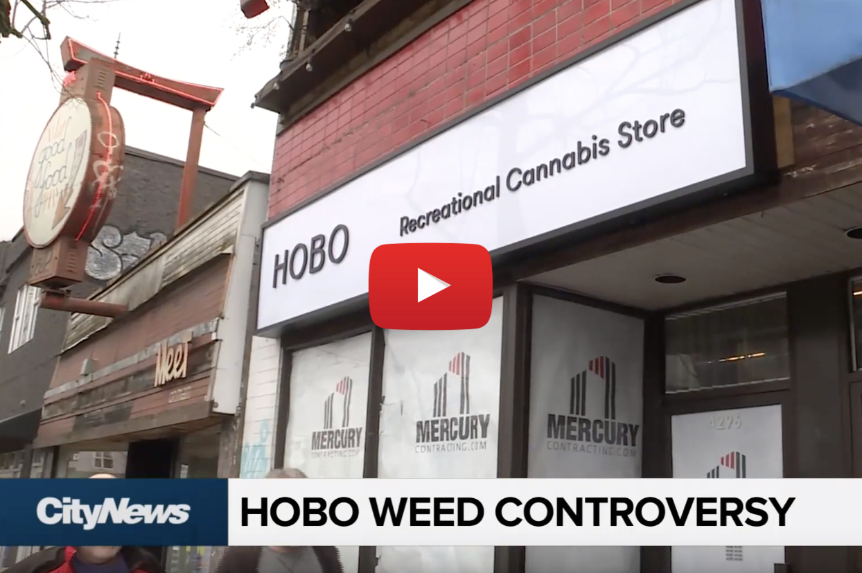 hobo cannabis to launch video - Hobo? Vancouver's Donnelly Group to launch 'Hobo Recreational Cannabis' retail chain