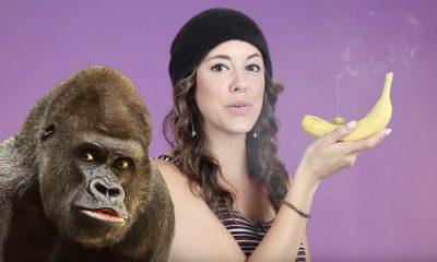 Going APE over marijuana? How to make a banana weed pipe!