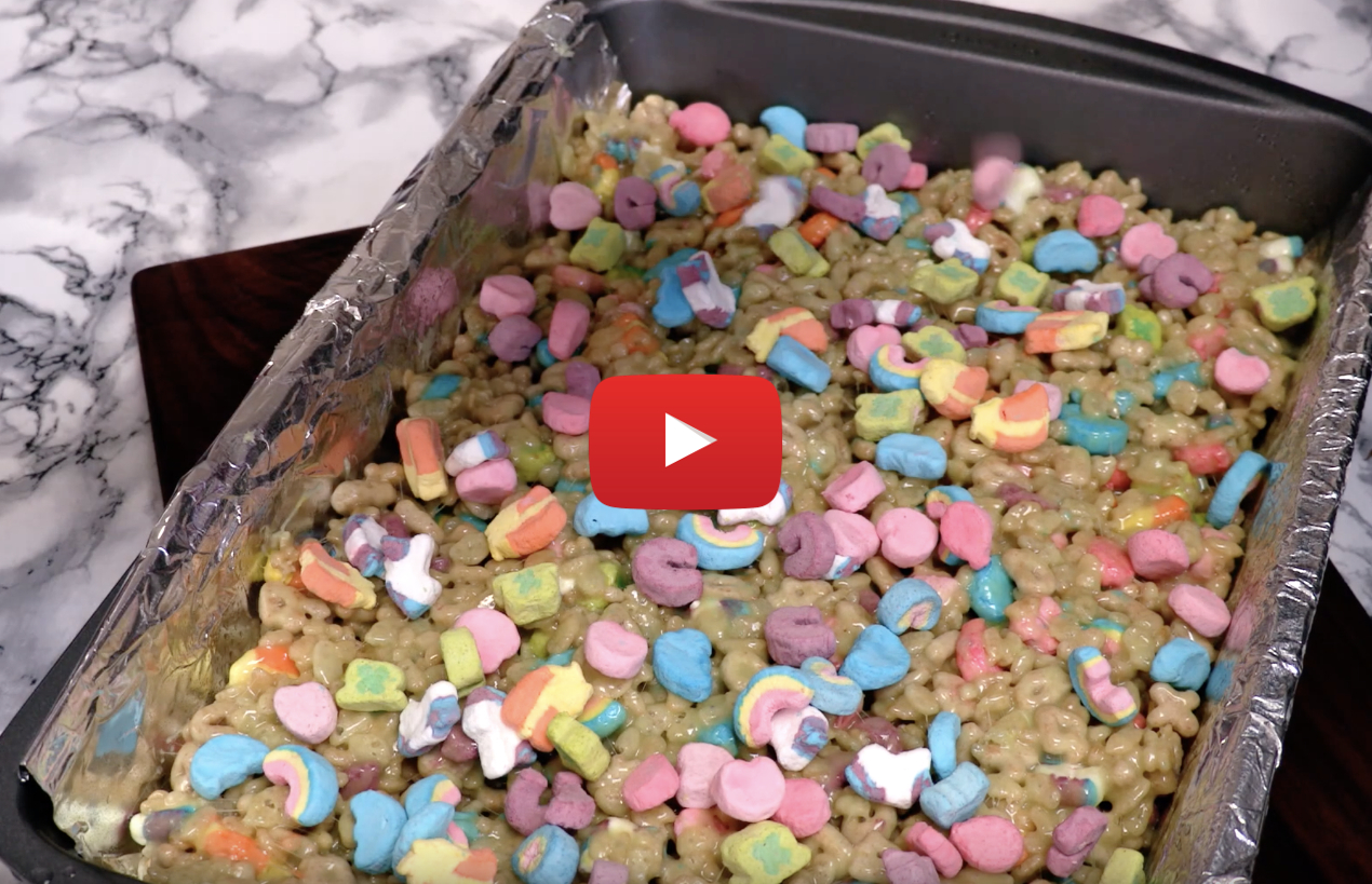 lucky charms cannabis rice krispie video - Hey Irish! How to make Marijuana Lucky Charms Rice Krispie Squares