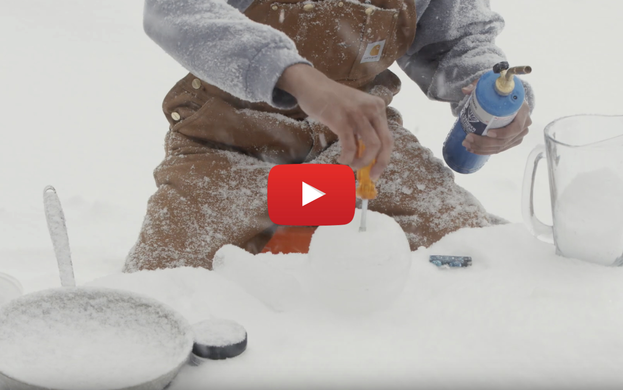 How to make an ice bong.. The true definition of cool toking in Canada