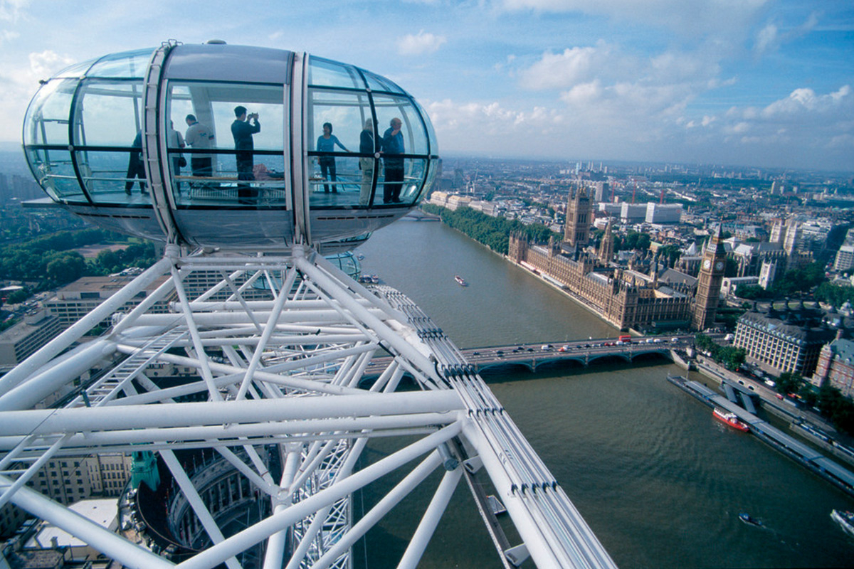 Ultimate UK Weed Prank - What happens when you hotbox the London Eye?
