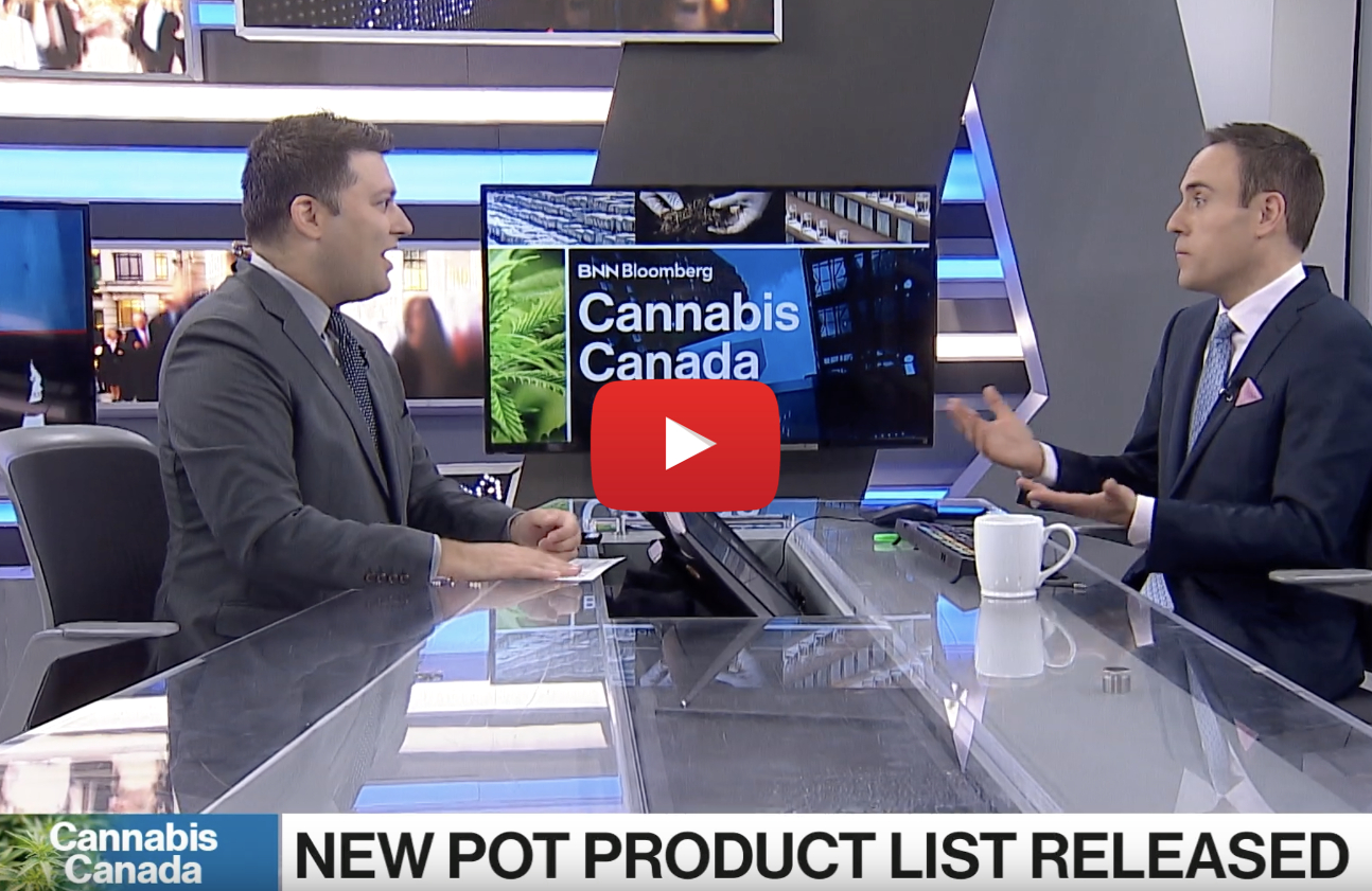 list edibles legal video - 17 cannabis products Canadians can buy when edibles become legal