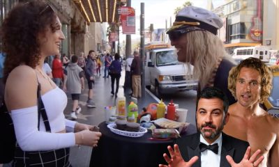 Jimmy Kimmel sends Matthew McConaughey Undercover to Get People Stoned!