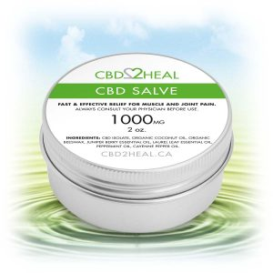 c2h cbd salve 1000mg 300x300 - Top 15 CBD Topicals in Canada 2021 - Balms, Creams, Lotions & More